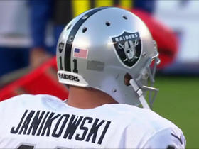 Sebastian Janikowski nails 44-yard field goal for lead