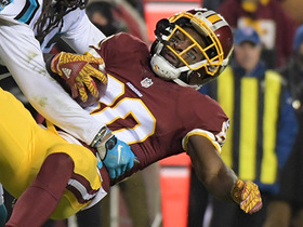 Jamison Crowder fumbles, Panthers recover to seal victory
