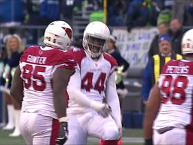 Cardinals complete goal line stand with sack by Rodney Gunter