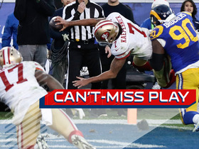 Can't Miss Play: Kaepernick lays out for game-winning score