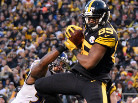 Roethlisberger fires perfect pass to Grimble for 20-yard TD