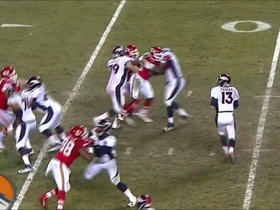 Trevor Siemian completes to Jeff Heuerman over the middle for 16 yards