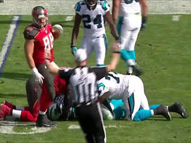 Jameis Winston fumbles, Panthers recover