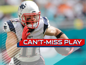 Can't-Miss Play: Huge block springs Edelman for 77-yard TD