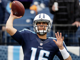 Matt Cassel launches 50-yard bomb to Rishard Matthews