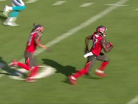 Keith Tandy picks off Cam Newton for the second time