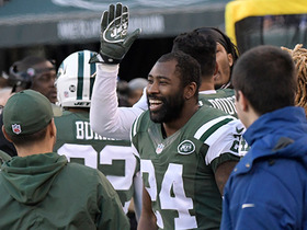 Revis gets first interception of season
