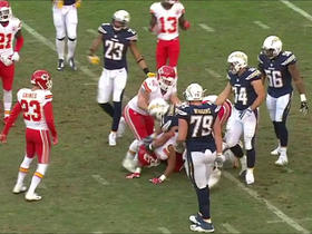 Kyle Emanuel flagged for repeatedly shoving D.J. Alexander's head into ground