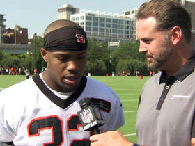 Jeremy Hill: We're tracking every drop in practice