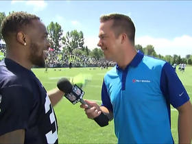 Thomas Rawls jokes with James Palmer