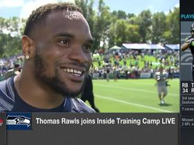 Thomas Rawls: Russell Wilson looks faster, has more energy