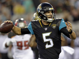 Who is winning preseason QB battle Blake Bortles or Chad Henne?