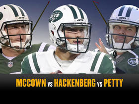 Who is winning preseason QB battle McCown, Hackenberg or Petty?