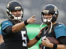 QB Question Marks: Jaguars Blake Bortles and Chad Henne
