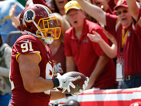 Ryan Kerrigan snags the easy pick six against Wentz