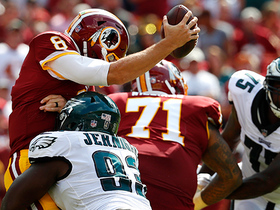 Timmy Jernigan crushes Kirk Cousins with sack