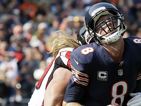 Brooks Reed sacks Mike Glennon on 4th down of Bears final drive