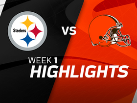 Steelers vs. Browns highlights | Week 1