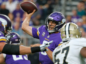Sam Bradford launches it to Adam Thielen for 35-yard catch