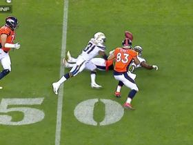 Chargers grab bizarre kicked-ball interception off Siemian