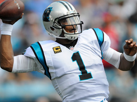 Cam Newton beasts to the outside for a 15-yard 1st down