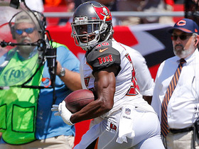 Robert McClain picks off Mike Glennon, takes it to the house for a 47-yard touchdown