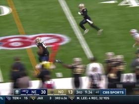 Saints interception overturned with 12 players on the field