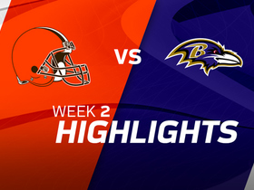 Browns vs. Ravens highlights | Week 2