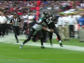 Telvin Smith recovers fumble, returns it for 50 yards