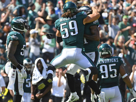 Eagles defense make another red zone stand on 4th down