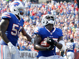 Tre'Davious White grabs first interception of career