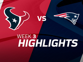 Texans vs. Patriots highlights | Week 3