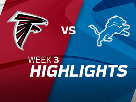 Falcons vs. Lions highlights | Week 3