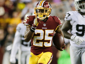 Chris Thompson takes bubble screen 74 YARDS for near TD