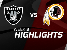 Raiders vs. Redskins highlights | Week 3
