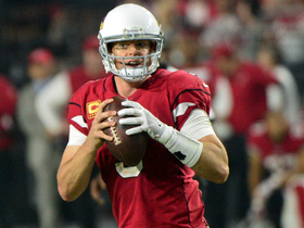 Carson Palmer finds Brittan Golden for 21 yards