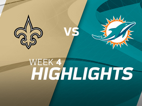 Saints vs. Dolphins highlights | Week 4