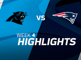 Panthers vs. Patriots highlights | Week 4