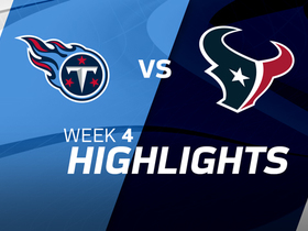 Titans vs. Texans highlights | Week 4