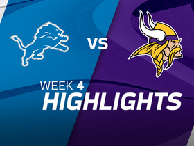 Lions vs. Vikings highlights | Week 4