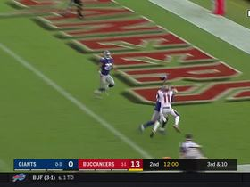 Eli Apple locks up DeSean Jackson, bats away potential TD pass