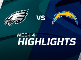 Eagles vs. Chargers highlights | Week 4