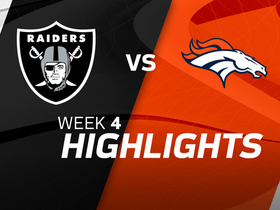 Raiders vs. Broncos highlights | Week 4