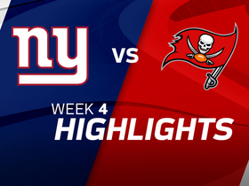 Giants vs. Buccaneers highlights | Week 4