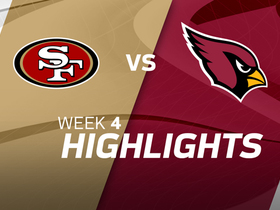 49ers vs. Cardinals highlights | Week 4