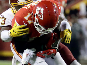 Chris Conley's near fumble sets up Chiefs go-ahead field goal