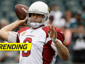 Carson Palmer passes Johnny Unitas on career TD passes list