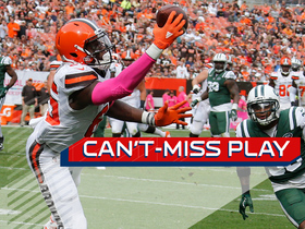 Can't-Miss Play: David Njoku makes Odell-like one-handed TD catch