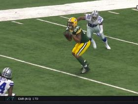 Rodgers throws absolute strike to Lance Kendricks for 24 yards