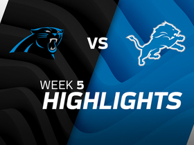 Panthers vs. Lions highlights | Week 5